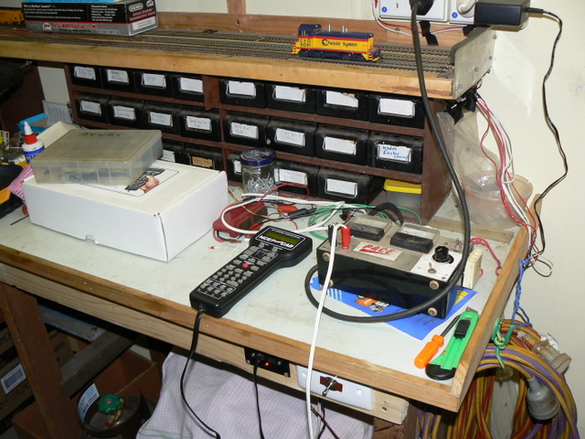 DCC in workshop