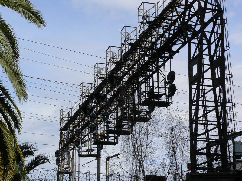 Spencer Street Signal Gantry
