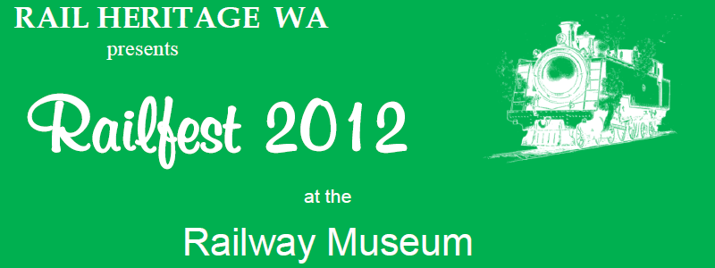 Railfest 2012 banner